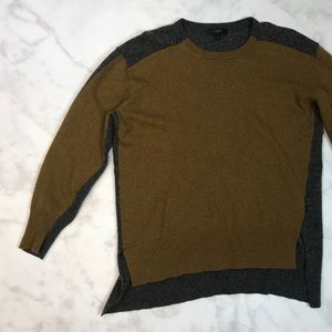 J crew wool sweater size medium